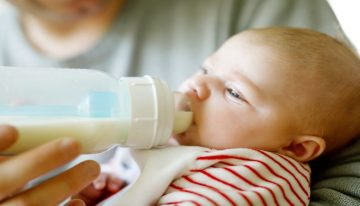 How Does A Milk Formula Benefits Newborn Babies?